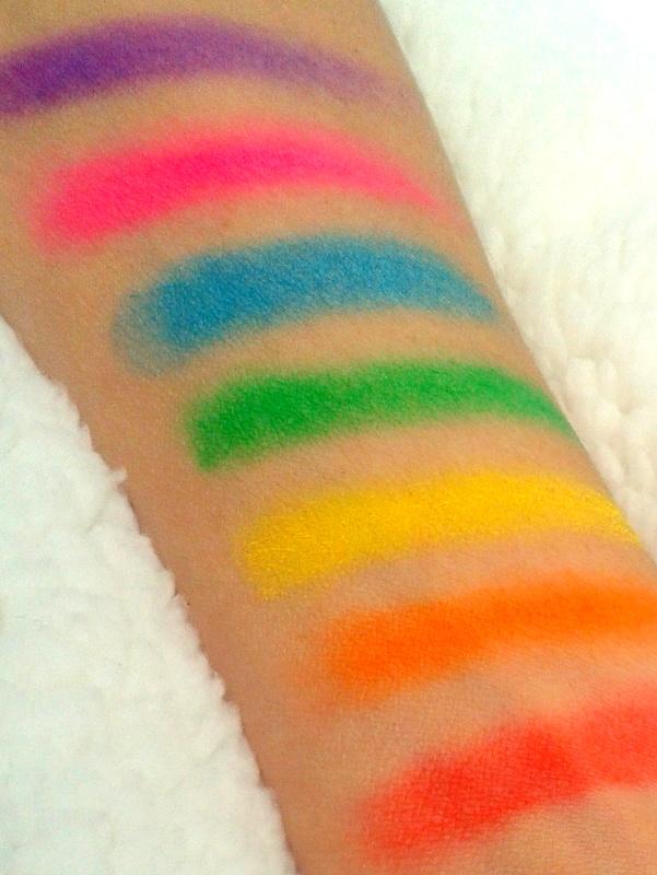 Colors of the rainbow tag glam and glitters - Wat zijn de warme kleuren ...