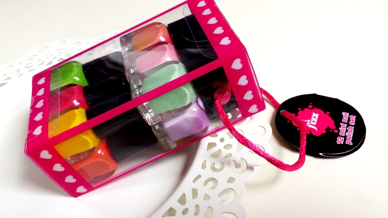 Nail polish mini nagellak
