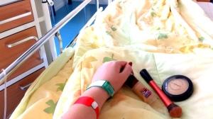 20140824_083439 Ziekenhuis, ballonnen en luxe ontbijt op bed